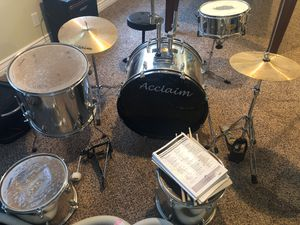Acclaim drum set for Sale in Bluffdale, UT