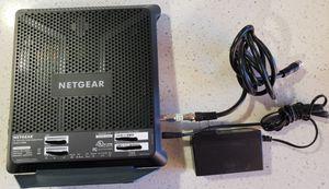 Netgear C7000 Modem/Router 2.4 & 5 ghz for Sale in San Francisco, CA