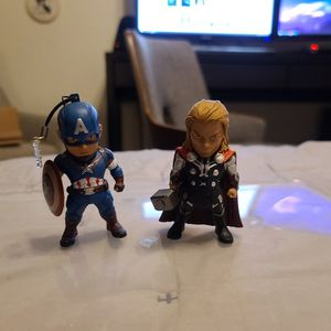 """3"""" Captain America And Thor Figures for Sale in San Diego, CA"""