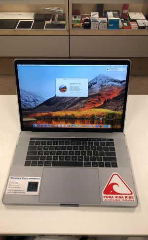 Apple MacBook Pro 15 inch 2017 Touch Bar for Sale in Pittsburgh, PA
