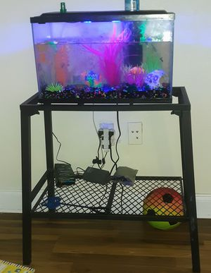 Glow fish tank for Sale in Port Richey, FL