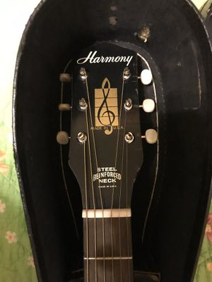 Harmony acoustic guitar for Sale in Houston, TX