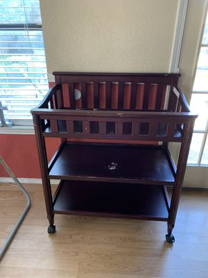 Changing table/ pad for Sale in Watauga, TX