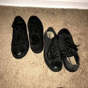 Black Converse for Sale in Euclid, OH