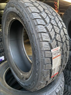 All terrain 285/55/20 Mastercraft tires $600 for Sale in Ontario, CA