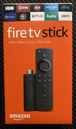 New Amazon fire tv stick with free live tv, movies and tv shows for Sale in Indianapolis, IN