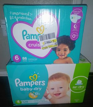 Pampers size 4 & 6 for Sale in Arlington, TX