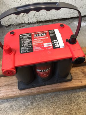 "Optima Battery REDTOP high-performance GEL"" BRAND New for Sale in West Covina, CA"