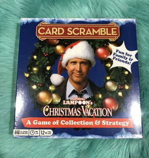 Christmas Vacation A Game of Collection and Strategy Family Board Game for Sale in Miami, FL
