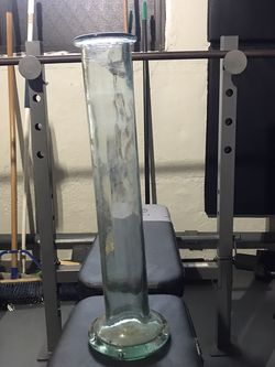 tall clear vase for Sale in Queens,  NY