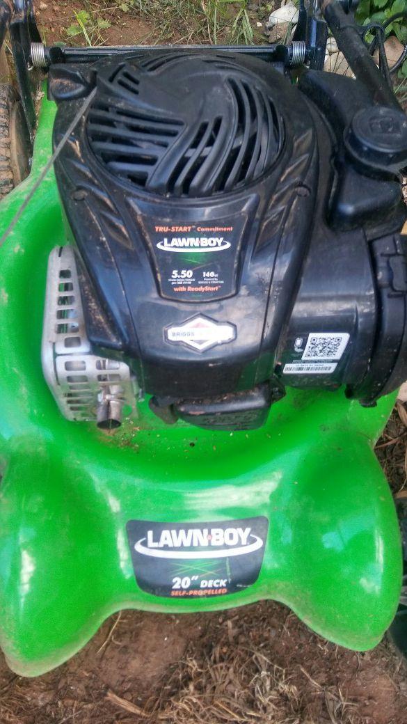 Lawnboy 5.50 tru start