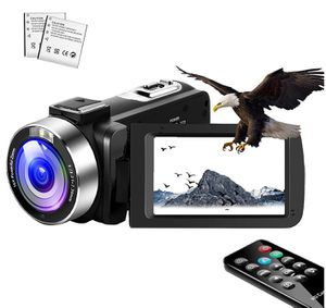 Video Camera Camcorder,Vlogging Camera for YouTube 1080P IR Night Vision Camcorders Camera Recorder 16X Digital Zoom with Pause Function and Remote for Sale in Louisville, KY