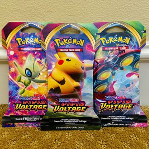 Pokemon Cards: Sword & Shield Vivid Voltage Booster Pack for Sale in Irvine, CA