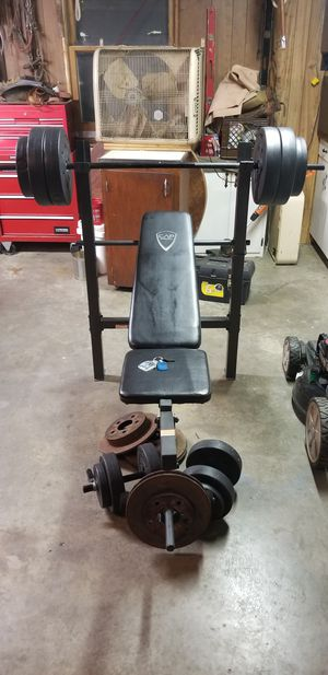CAP Weight Bench for Sale in Milan, IL