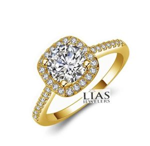 New 18 k yellow gold engagement ring for Sale in Orlando, FL