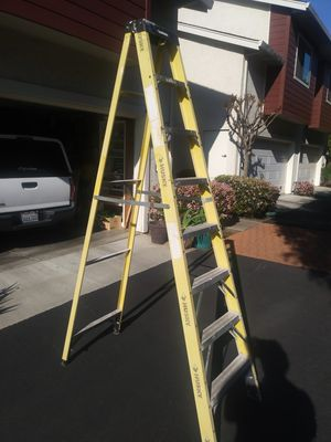 Husky 8 foot fiberglass ladder for Sale in Campbell, CA