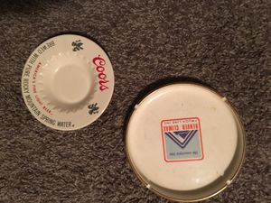 Vintage Plates - Ash Trays - COORS & CLIMAX MINE for Sale in Evergreen, CO
