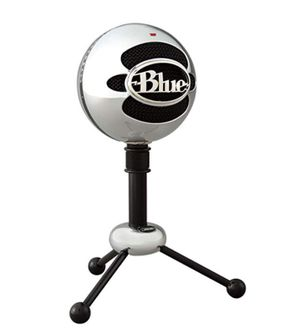 Blue Snowball USB Microphone (Brushed Aluminum) for Sale in Las Vegas, NV