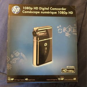 HP 1080P HD digital Camcorder for Sale in Brick Township, NJ