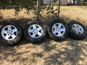 Jeep wheels for Sale in Dallas, TX