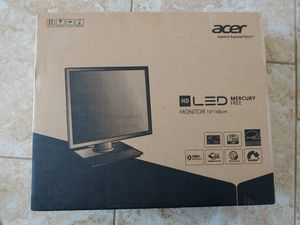 "19"" Acer Computer Monitor for Sale in Pflugerville, TX"