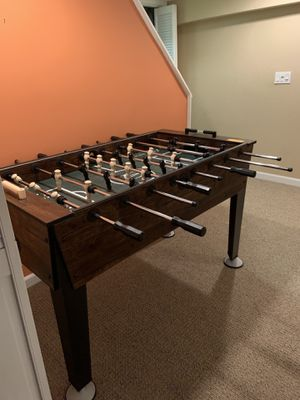 SOLD. Foosball Table (barely used) for Sale in Simsbury, CT