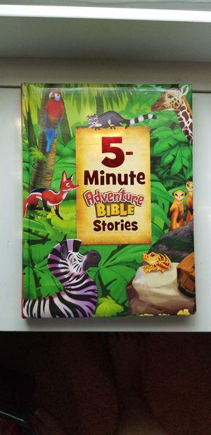 5 Minute Adventure Bible Stories book for Sale in Murfreesboro, TN