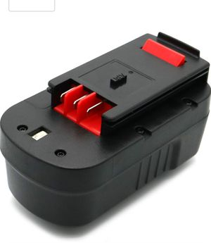 Battery Replacement for BLACK and DECKER 18 Volt Cordless Power Tool for Sale in Nashville, TN