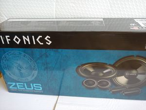 Car speakers :Hiifonics 6 .5 inch 400 watts component car speakers for Sale in Bell Gardens, CA