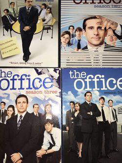 The Office Season 1-4 DVD for Sale in El Paso,  TX