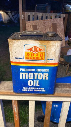 1960-1970 oil can for Sale in Granite Falls, WA