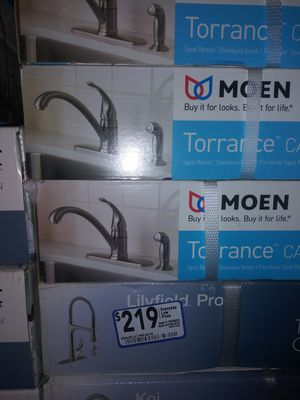 Moen Torrance kitchen FAUCET $84.99 EACH for Sale in Durham, NC