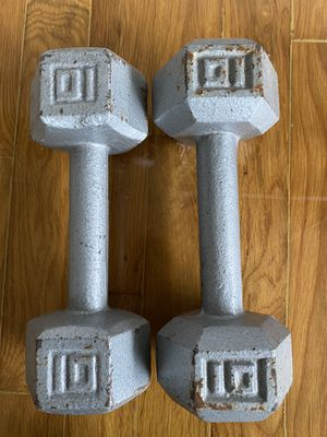 10 lbs used dumbbells for Sale in Lynnwood, WA