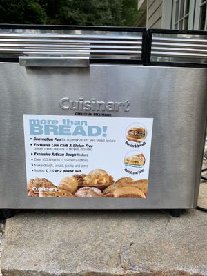 Cuisinart Breadmaker for Sale in Gladwyne, PA