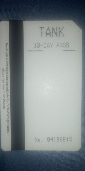 30 Day TANK Bus Pass $25 for Sale in Rouse, KY