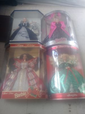 Special edition collectable holiday barbies for Sale in Kingsport, TN