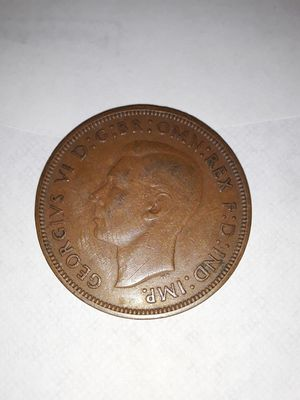 1938 British coin throw me an offer for Sale in Arcola, TX