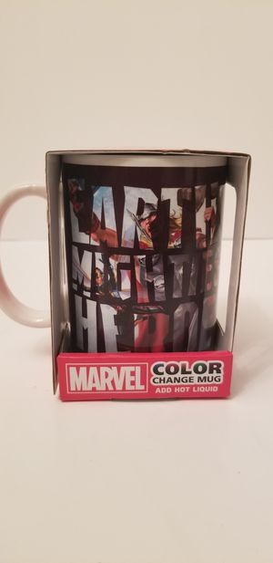 MARVEL AVENGERS COLOR CHANGING MUG SENSITIVE MAGIC CUP 15oz for Sale in Milton, PA