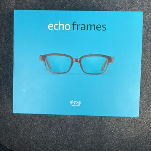 All-new Echo Frames (2nd Gen)   Smart glasses with open-ear audio and Alexa   Classic Black for Sale in Washington, DC
