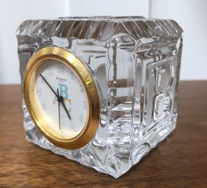 Waterford crystal ABC Baby Block Clock for Sale in Issaquah, WA