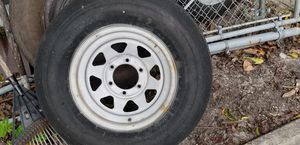 Tire trailer 225/75/15 for Sale in Hollywood, FL