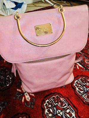 Bebe pink leather backpack for sale!!! for Sale in Fairfax Station, VA