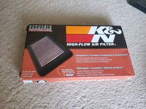 K&N high flow air filters for Sale in Kennewick, WA