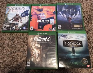 Xbox One Game Lot $30 for 5 Great Games for Sale in Mesa, AZ