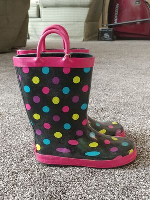Rubber rain boots for Sale in Eagle Mountain, UT