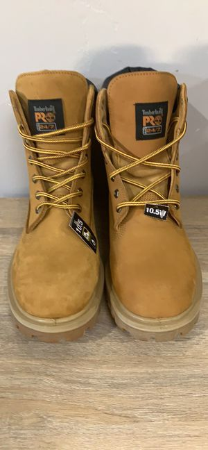 Timberland steel toe work boots size 10.5/M for Sale in Riverside, CA