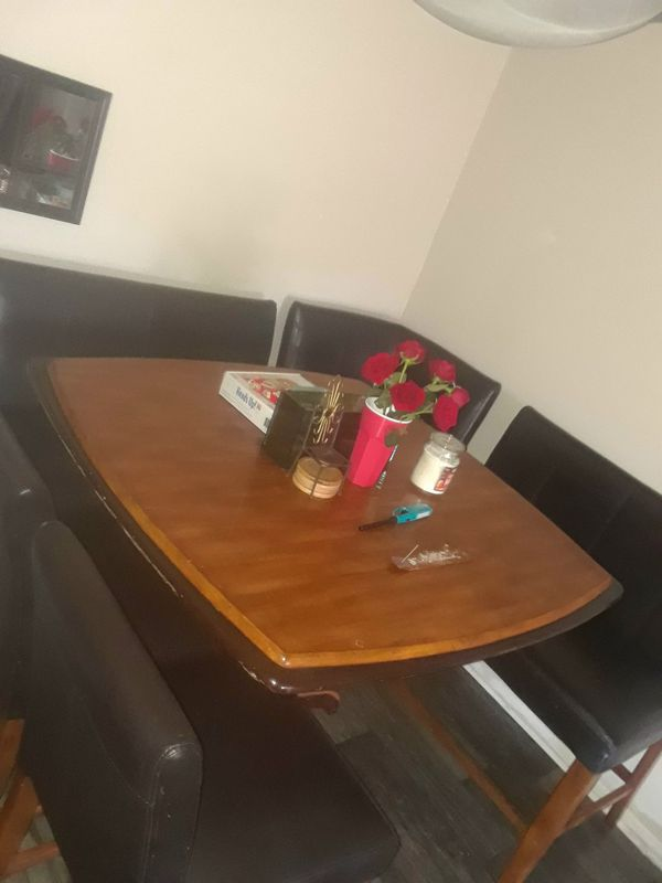 Restaurant style Sectional Dining Room Table