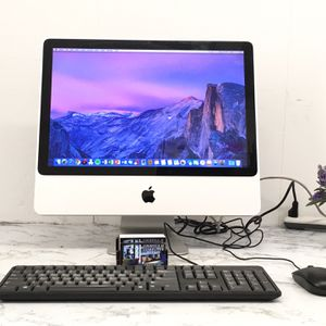 "**Apple iMac 20"" Early 2009 with Zoom and Microsoft Office ** *Mac OS X El Capitan 10.11.6 ** Price $ 165 ** *Intel Core 2 Duo @ 2.0ghz. *3 GB ram. for Sale in Jurupa Valley, CA"