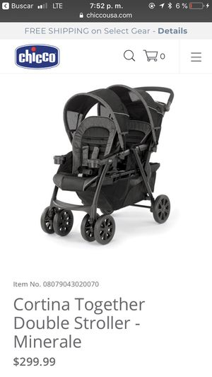 Double stroller chicco for Sale in Richmond, VA