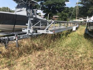 2015 boat trailer for 35' houseboat (14,000 GVWR) for Sale in Fairfax, VA